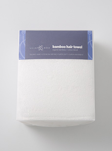 ES-3266  Branded Bamboo Hair Towel